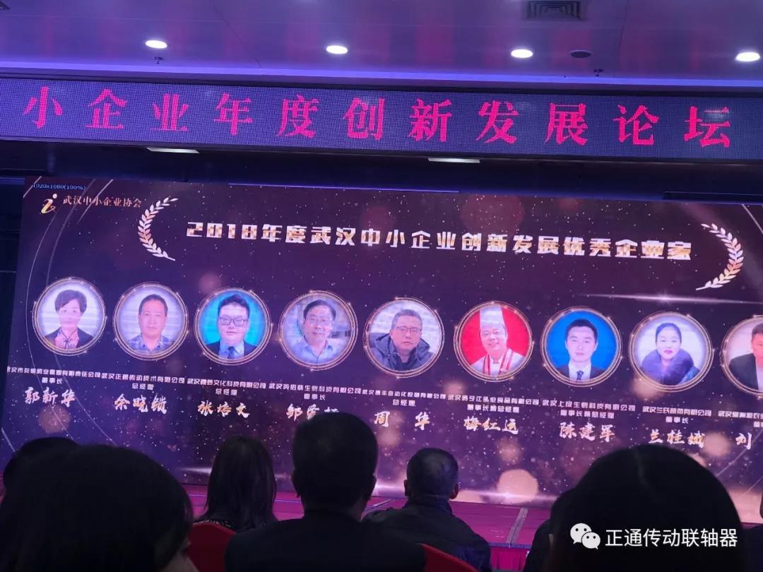 公司获得武汉市名企、名家、名品多项荣誉称号